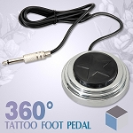 360 Degree Star Design Tattoo Foot Pedal