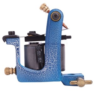 Full Size Cast Iron Shader or Liner Tattoo Machine Blue