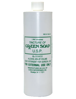 Green Soap 1 Pint (16 oz.) for Tattooing