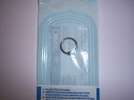 Single Sterile Captive Bead Ring Individually Pouched
