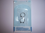 1 Pair Sterile Horseshoe Barbells for Body Piercing