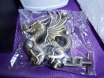 Winged Dragon Embossed Tattoo Machine