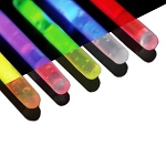 5 Pack of Replacement Snap and Glow Sticks - up to 4 hrs