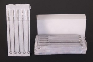 5 Tattoo Needles Individually Packaged
